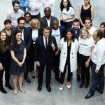 Tont'In rencontre le président Macron