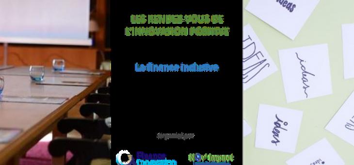 RDV de l'innovation positive