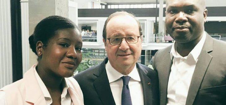 Tont'In rencontre le président Hollande